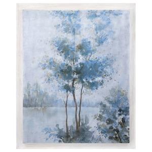 Frost Awakening Wood Framed Oil Painting