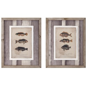Catch of the Day Wall Décor - Ast 2