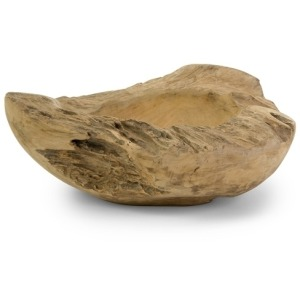 Macaque Small Teakwood Bowl