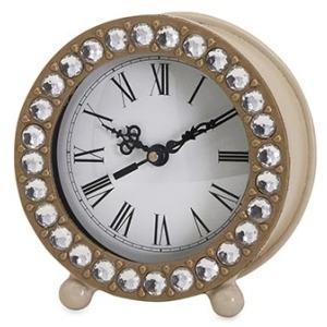 Jeweled Small Clock