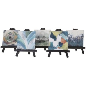 Beth Kushnick Mini Canvas with Easel - Ast 5