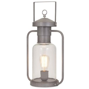 Newport Glass Lantern Table Lamp