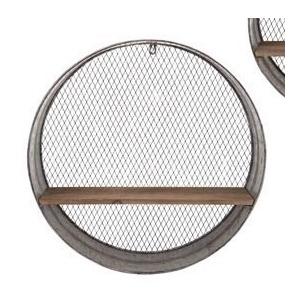 Laurel Round Wall Shelf - Large