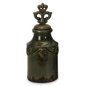 Peyton Bottles with Finial - Small