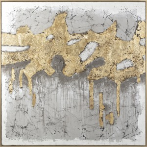 Guilded Brilliance Framed Oil Painting