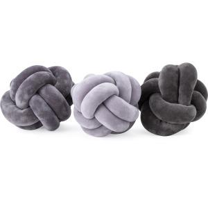 Channing Small Velvet Knots - Ast 3