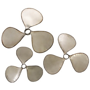 Pelham Propeller Wall Decor - Set of 3