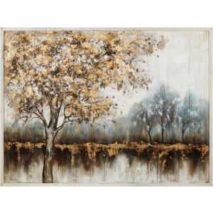 Somerville Framed Oil Painting