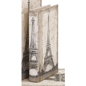 Eiffel Tower Travel Book Box - Small