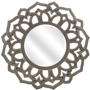 Essentials Taupe Wall Mirror