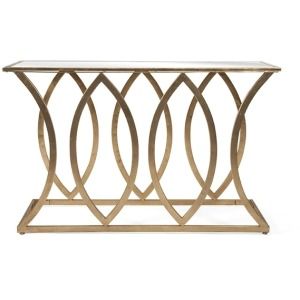 Ranada Mirror Top Console Table