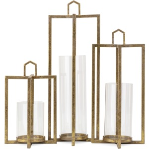 Bastillica Lanterns - Set of 3