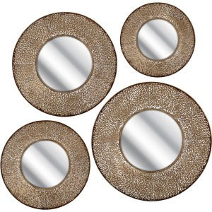 Karlesto Wall Mirrors - Set of 4