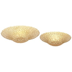 Celebration Glass Bowls - Set of 2