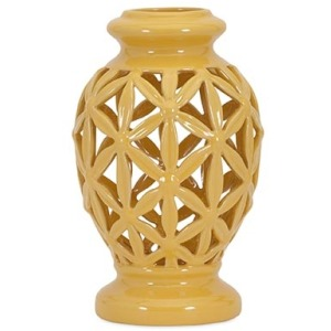 Clarey Small Cutout Vase