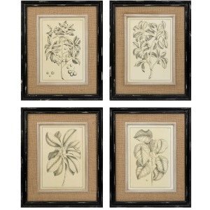 Victoriana Wall Decor - Ast 4