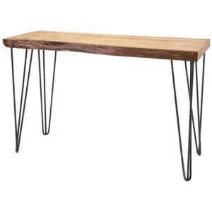 Crispin Acacia Wood Console