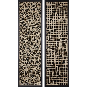 Canyon Handmade Paper Wall Decor - Ast 2