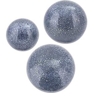 Azul Ceramic Wall Bubbles - Set of 3