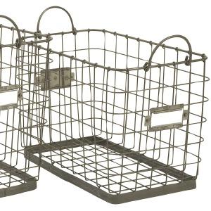 Newbridge Wire Storage Basket - Small