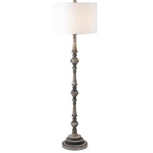 Nichole Wood Floor Lamp