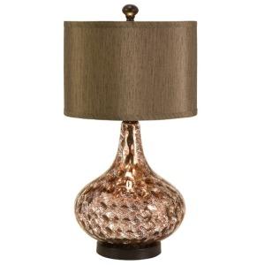 Palmera Mercury Glass Lamp