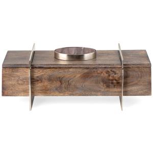 NK Adelia Wood and Marble Box