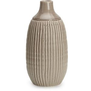 Felicia Large Striped Vase