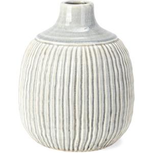 Felicia Medium Striped Vase