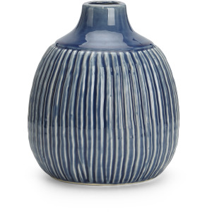 Felicia Small Striped Vase