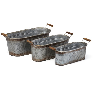 Prairie Planters - Set of 3