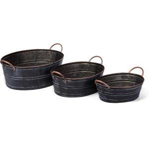 Gus Metal Planters - Set of 3