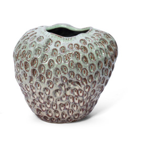 Sigrun Small Strawberry Ceramic Vase