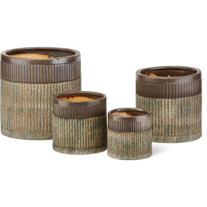 Abbot Planters - Set of 4
