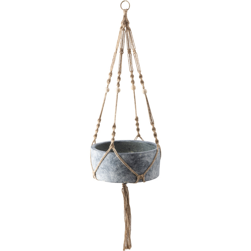 Abelina Macrame Hanging Planters - Set of 2