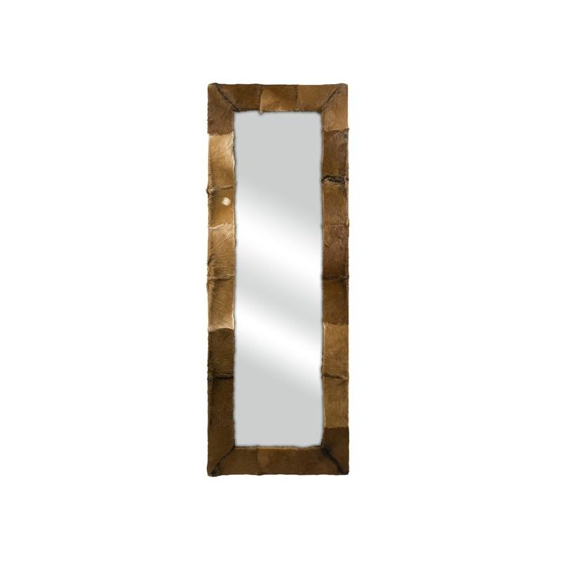 Pacino Animal Hide Floor Mirror