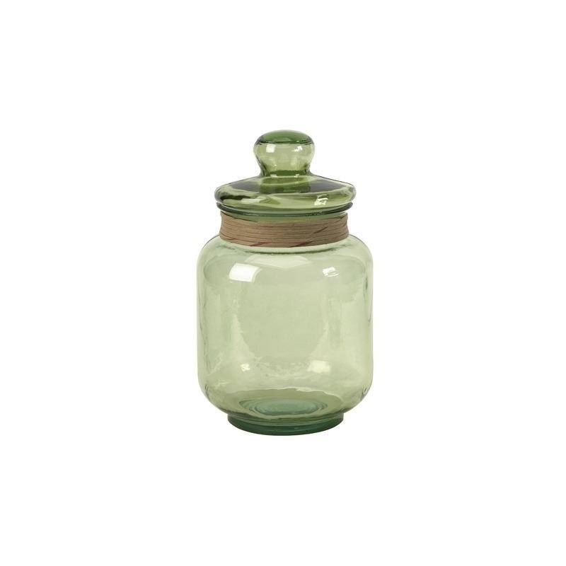 Sanzio Medium Recycled Glass Canister