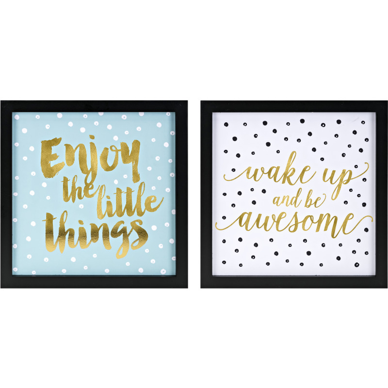 Positive Dots Wall Decor - Ast 2