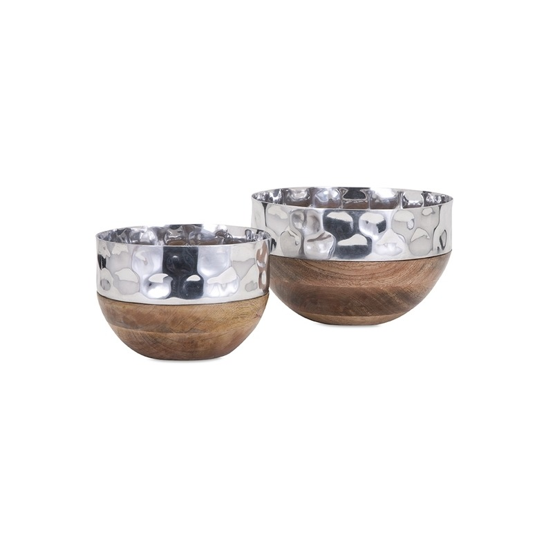 TY Persimmon Serving Bowls