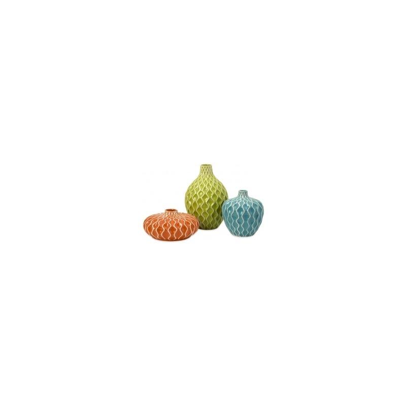 Agatha Ceramic Vases - Set of 3