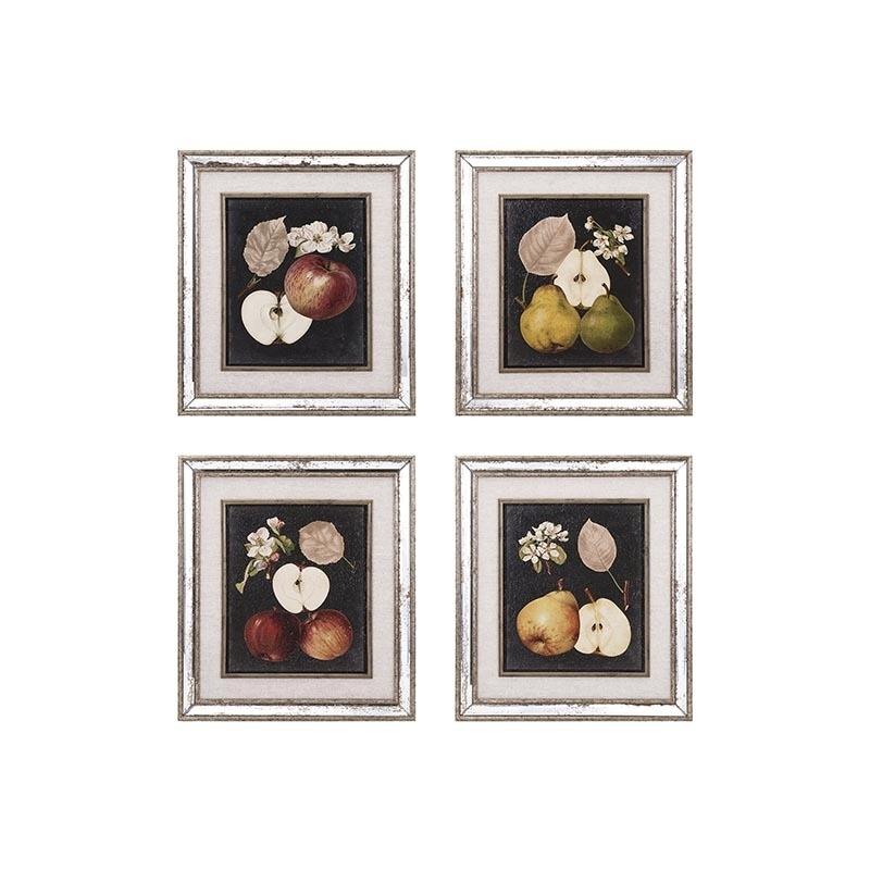 Camilla Fruit Wall Décor - Ast 4