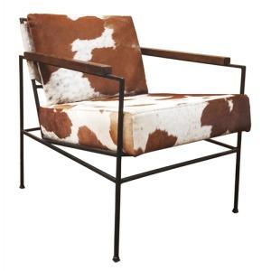 Alamos Cowhide Club Chair