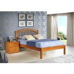 Orleans Pecan Full Platform Bed