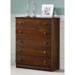 Chestnut Five Drawer Chest