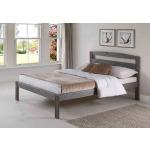 Kingston Twin Platform Bed - Gray