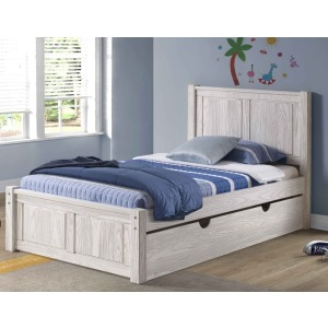 Salem King Platform Bed - Birch