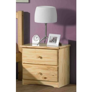 Natural Ponderosa Nightstand