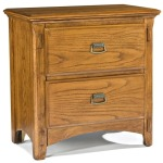 Pasadena Revival Bedroom Furniture Two Drawer Nightstand