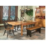 """Rustic Traditions 52"""" Backless Bench"""