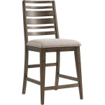 Highland Ladder Back w/Cushion Seat Barstool